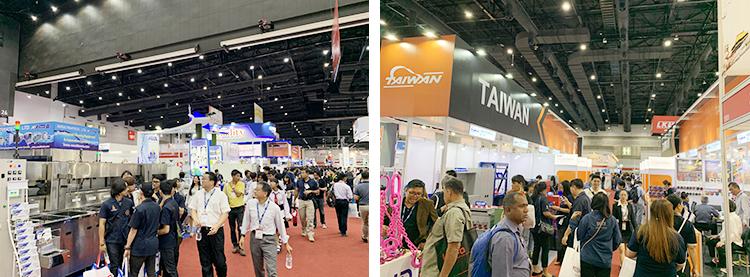 2019泰国曼谷电子元器件及生产设备展览会现场
